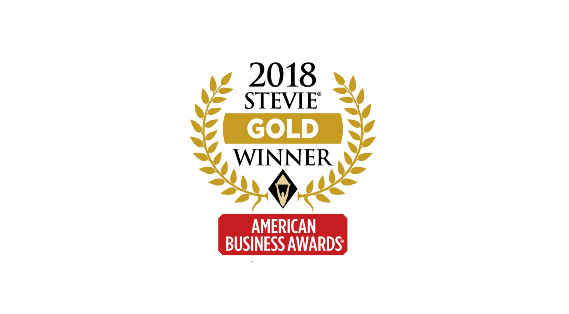 2018 Gold Stevie Award
