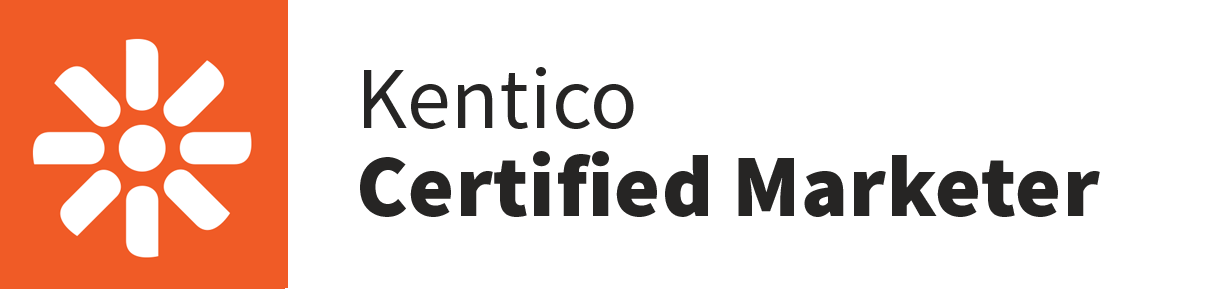 Kentico Certified Marketer